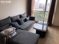 湖畔之城 靠一中 11楼精装两室出租 拎包入住 1400元每月 带简单家具