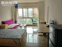 时代广场二期 精装修单身公寓租1100每月 带部分家具家电 市中心繁华地带