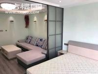 沃尔玛 小广场附近 时代广场三区 新装修 清爽漂亮一室一厅 客卧分离 空间隐私