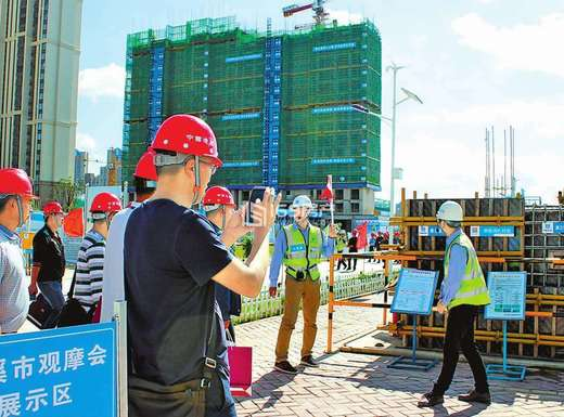 红星国际广场工程进度