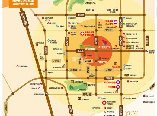 新天地万达广场交通图