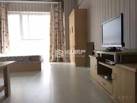时代广场二区精装修带家具单身公寓 诚售!