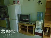 时代广场、1室1厅1厨1卫、精装修单身公寓、带全套家具出租