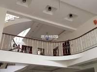 大营街景华苑独栋中空别墅395平米,精装修,满2年