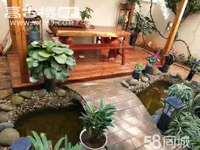 龙马路华曦园1跃2复式楼,4室3厅3卫,精装修,带花园!