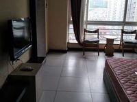 时代广场中间楼层精装修带家具家电出租,空调茶几热水器都有