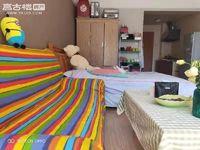 时代广场、精装修、1室1厅1厨1卫、单身公寓、带家电家具出租