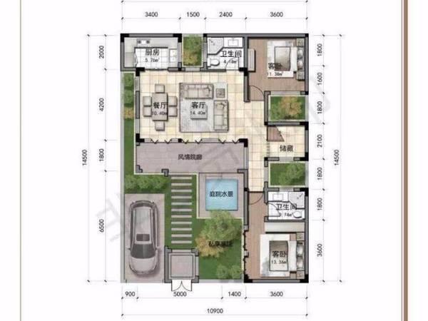 出售玉山城臻园5室2厅4卫176.1平米192万住宅