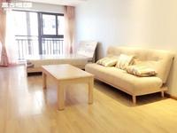 新房首租:可短租-沃尔玛旁时代广场三期精装修单身公寓完美拎包入住-可短租