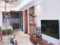 出售红星国际广场紫郡豪华装修满2年2室2厅1卫87.6平米87万住宅