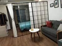 时代广场三期,单身公寓,精装修,带家电家具