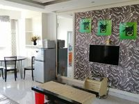 市中心 财富时代 精装两室,带家具家电出售
