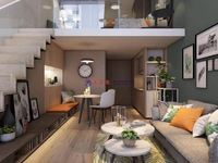 北市区 一手现房观景公寓 带精装 首付低至3万 可自主可托管