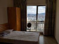 一中盘 湖畔知城 精装单身公寓 带家具拎包入住 看房方便