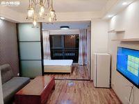 新房首租:沃尔玛时代广场三期精装修一室一厅拎包入住可三个月一付租金-